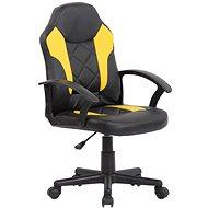 BHM Germany Tafo, černá / žlutá - Dětská židle