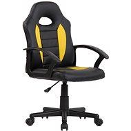 BHM Germany Femes, černá / žlutá - Dětská židle