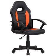 BHM Germany Femes, černá / oranžová - Dětská židle