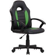 BHM Germany Femes, černá / zelená - Dětská židle