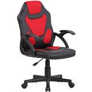 BHM Germany Dano, černá / červená - Dětská židle