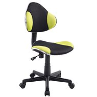 BHM Germany Basty černo-zelená - Dílenská židle