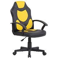 BHM Germany Adale, černá / žlutá - Dětská židle