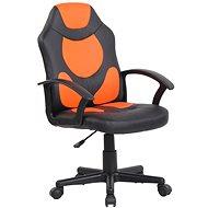 BHM Germany Adale, černá / oranžová - Dětská židle