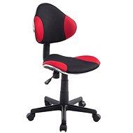 BHM Germany Sael černo-červená - Dílenská židle
