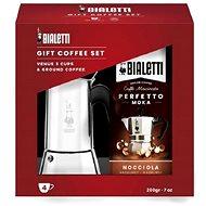 Bialetti Venus, 4 šálky set s kávou - Moka konvička