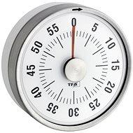 Mechanická minutka TFA 38.1028.02 – PUCK – bílá