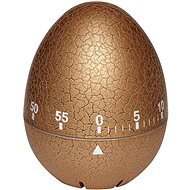 TFA Mechanická minutka 38.1033.53 – vajíčko popraskané zlaté - Minutka