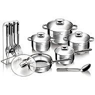 Blaumann Sada nádobí Jumbo 17ks Gourmet line BL-3133 - Sada nádobí