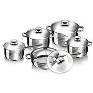 Blaumann Sada nádobí nerez 10ks Jumbo Gourmet Line BL-1637 - Sada nádobí