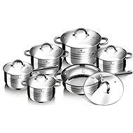 Blaumann Sada nádobí nerez 12ks Gourmet Line BL-1410 - Sada nádobí