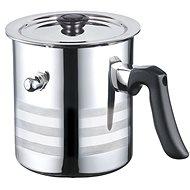 Blaumann Whistling Milk Pot with Stainless-steel Lid, 2.5l