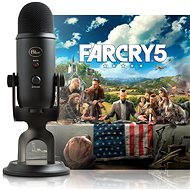 BLUE Yeti Blackout + Far Cry 5 - Stolní mikrofon