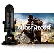 BLUE Yeti Blackout + Ghost Recon Wildlands - Stolní mikrofon