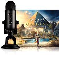 BLUE Yeti Blackout + Assassin's Creed Origins - Stolní mikrofon