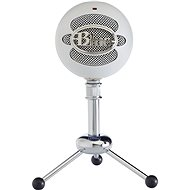 BLUE Snowball Textured White - Stolní mikrofon