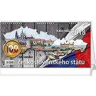 BALOUŠEK pracovní kalendář 2018 - 100 let od vzniku ČSR - Stolní kalendář