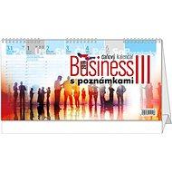 BALOUŠEK Business III. s poznámkami - Stolní kalendář