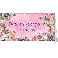BALOUŠEK Dvouletý kalendář s měsíčním kalendáriem 2019/2020 - Stolní kalendář