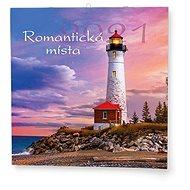 BALOUŠEK - Romantická místa - Nástěnný kalendář