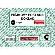 BALOUŠEK Receipt cash receipt - Form