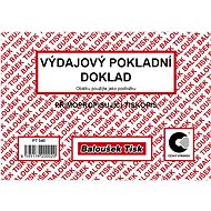 BALOUŠEK Cash receipt - Form