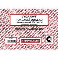 BALOUŠEK Cash receipt also for double-entry bookkeeping - Form