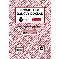 BALOUŠEK Delivery note - tax document - Form