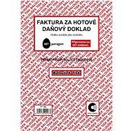 BALOUŠEK Invoice for cash - tax document - Form