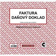 BALOUŠEK, Faktura - daňový doklad - Tiskopis