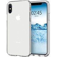 Spigen Liquid Crystal Clear iPhone XS/X + Spigen Glass Glas.tR Slim HD iPhone XS/X
