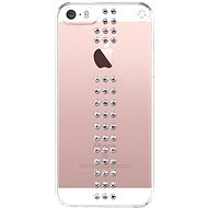 Bling My Thing Stripe Crystal pro Apple iPhone SE/5/5S - Kryt na mobil