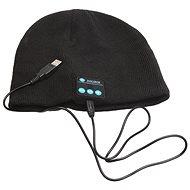 Beanie Bluetooth zimní čepice black - Čepice