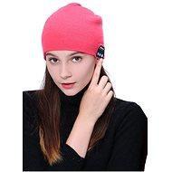 Beanie Bluetooth zimní čepice pink - Čepice