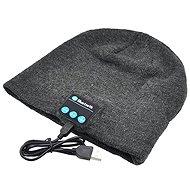 Beanie Bluetooth zimní čepice light gray - Čepice