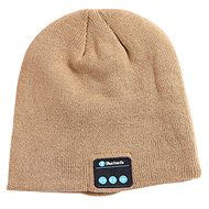 Beanie Bluetooth zimní čepice khaki - Čepice