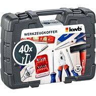 KWB Toolbox, 40pcs - Tool Set