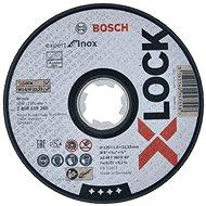 BOSCH X-LOCK Plochý řezací kotouč Expert for Inox systému  - Řezný kotouč