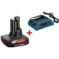Bosch Wireless charging GBA 12V W + GAL 1830 W Professional - Nabíječka a náhradní baterie
