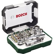 BOSCH 26-piece Set of Screw Bits and Ratchet - Bit Set