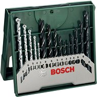 BOSCH 15-Piece Mini-X-Line Mix Set - Drill Set