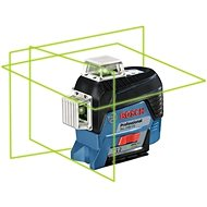 BOSCH GLL 3-80 CG + BM1 + L-Boxx Professional - Cross Line Laser Level