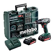 Metabo BS 18Li mobile workshop, 2 rechargeable batteries - Cordless Drill