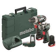 METABO PowerMaxxBSBasicSet 2x2,0 Ah - Akumulátorový šroubovák