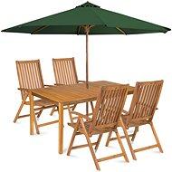 Fieldmann Calypso 4 with umbrella - Garden furniture