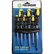FIELDMANN FDS 1102-6R, 6ks - Sada šroubováků