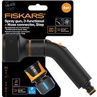 "FISKARS Comfort set - irrigation gun with 3 functions + hose coupling Comfort STOP 1/2 ""- 5/8"" - Irrigation Set"