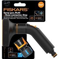 """FISKARS Comfort set - zavlažovací pistole multi + hadicová spojka Comfort STOP 1/2"""" - 5/8"""""""