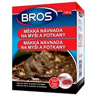 Rodenticide BROS Soft Bait for Mice and Rats 150g - Rodenticide