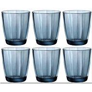 Bormioli Sklenice PULSAR 300 ml, modrá, 6 ks - Sada sklenic
